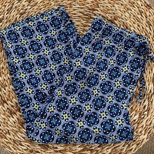 Crown & Ivy Wide Leg Print Pants sz3X EUC